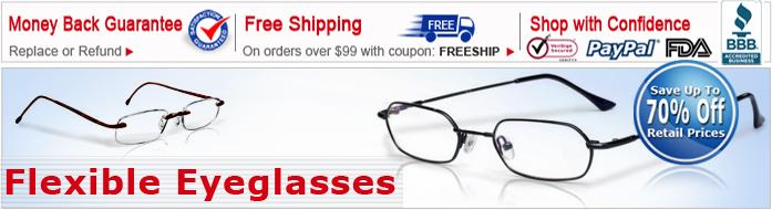 Flexible Eyeglasses