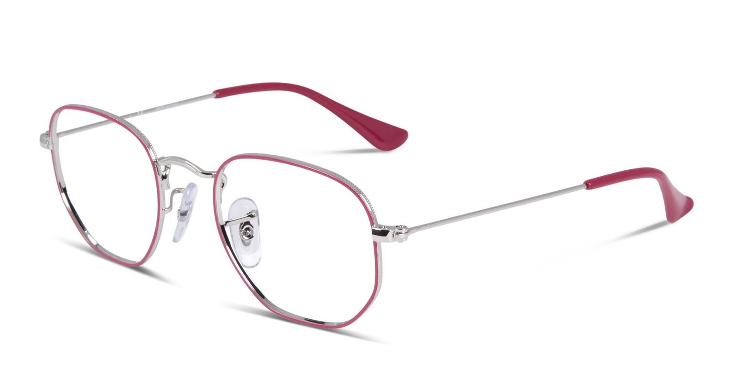 7460ff7f10 HomeRay-Ban Junior Wayfarer 9541V Purple w Silver. Try On. Premium