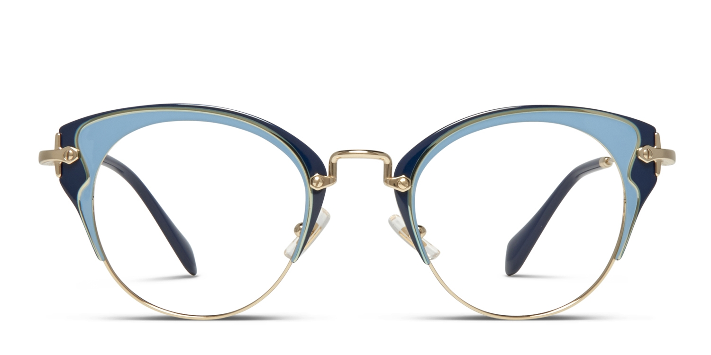 68afc3a8e110 Miu Miu MU 52PV Prescription Eyeglasses