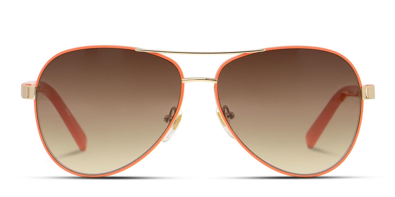 221739c32d Diane Von Furstenberg DVF828S Brandy Sunglasses