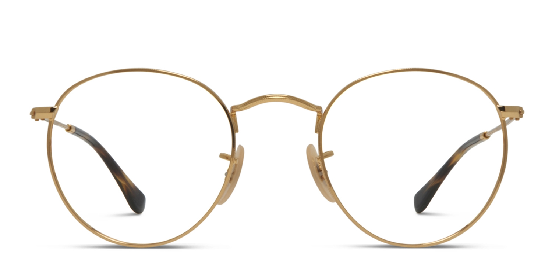9873601d83d Ray-Ban 3447V Round Metal Prescription Eyeglasses