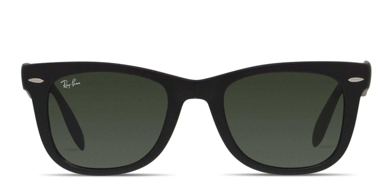 91569e19a3d5a Ray-Ban 4105 Foldable Wayfarer Prescription Sunglasses