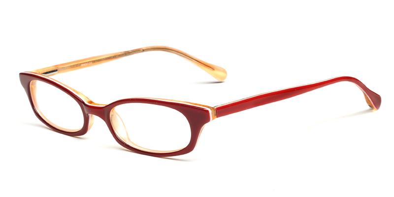 Glasses And Frames Deals : Big deal on Hilarie Red Prescription Eyewear - Eye Glasses ...