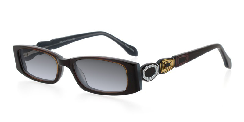 67274a987aed Dicaprio 82 Black Eyeglasses - Best Prices Eye Glasses onlinev