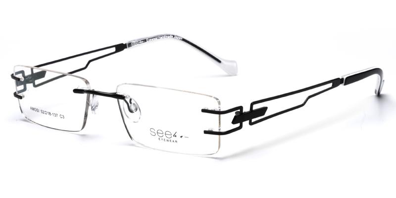 1a989267e682 Kenya Black Eyeglasses Frames For Sale Cheap - New The Glasses
