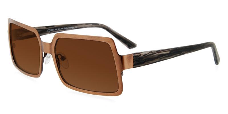 big deal on one ya1002 brown prescription sunglasses eye