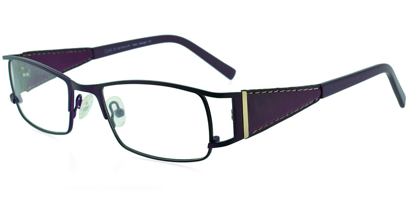 One EN2977 Purple Leather Purple/Eggplant Cheap Glasses Online