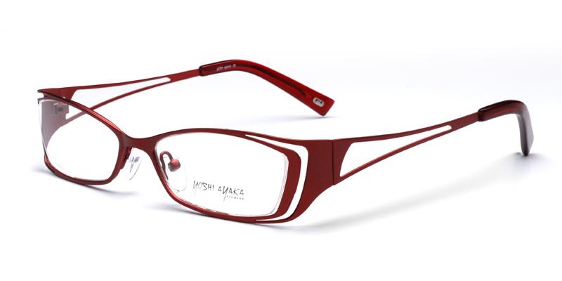 Unusual Designer Eyeglass Frames : Buy Yoshi Ayaka 3085 Burgundy Eyeglass Frames - Eye ...