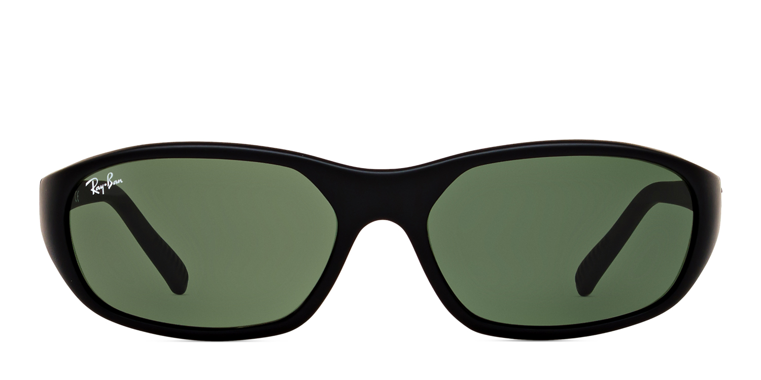 33fe681545 Ray-Ban 2016 Daddy-O Matte Black w Green