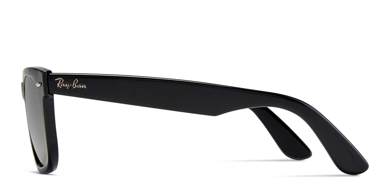 2cbf6505f5 HomeRay-Ban 4340 Wayfarer Shiny Black. Try On. Premium