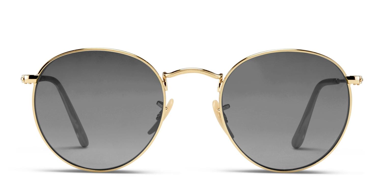 43e758cf052b5 Ray-Ban 3447 Round Metal Prescription Sunglasses