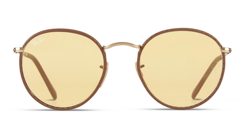 f3ee74f3cc Ray-Ban 3475Q Leather Prescription Sunglasses