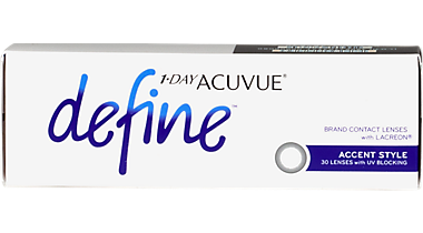 fee76fb1ab4 HomeContact Lenses1-Day Acuvue Define 30 pack. angle. front