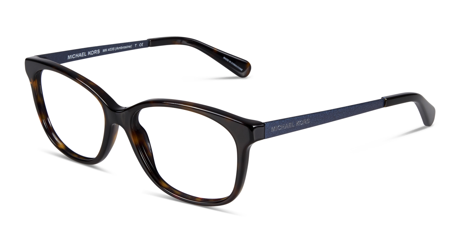 2c8371cf7b9 Michael Kors Ambrosine Prescription Eyeglasses