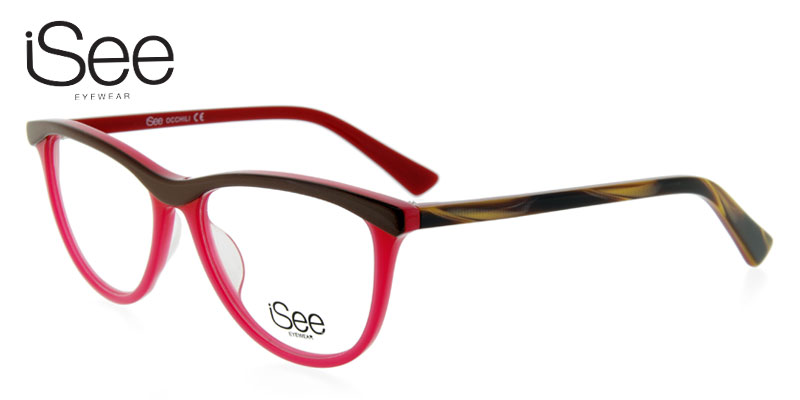 3a035b183e iSee 727 Red Eyeglasses Frames Inexpensive - Found Eyeglasses