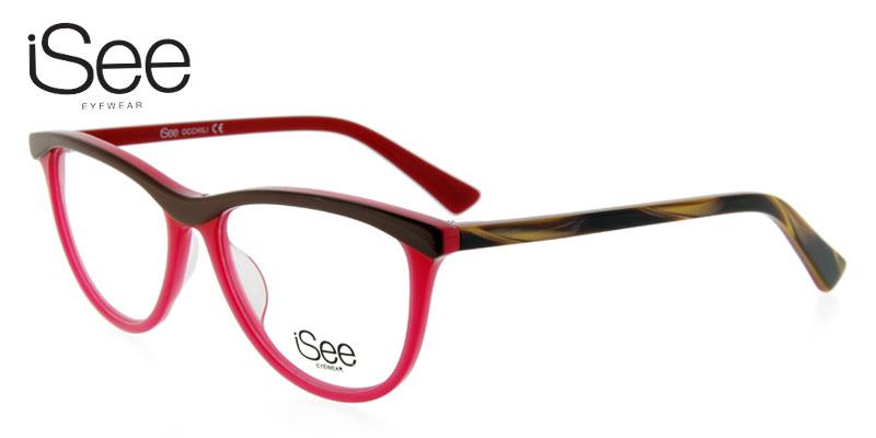 Eyeglasses Frames Red : iSee 727 Red #Eyeglasses #Frames - Shopperista