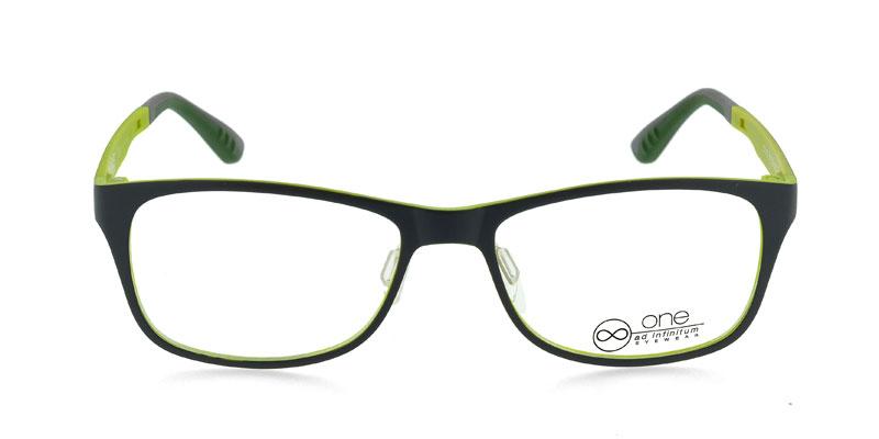 7f75bee68b19 One Ultem 2152 Gray w Neon Yellow Prescription Eyeglasses From  78