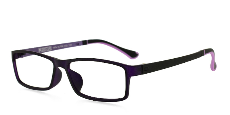 ULTEM F9009 Dark Purple Purple/Eggplant Prescription Glasses