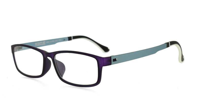 ULTEM F9014 Purple w/Baby Blue Purple/Eggplant Eyewear Frames