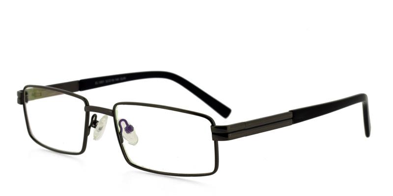 Discount Eyeglass Frames Imperial EL1001 Gunmetal w/Black