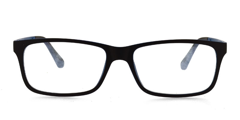 ad59812da4b4 One Ultem 2280 Black w Cobalt Blue Prescription Eyeglasses From  78