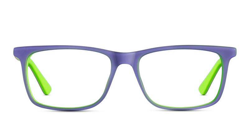 9562407a13 X-Ray OP2902 Indigo w Green Prescription eyeglasses