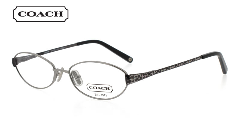 Price of Coach Lenora 1011 Gunmetal Prescription Glasses is for a    Coach Prescription Glasses