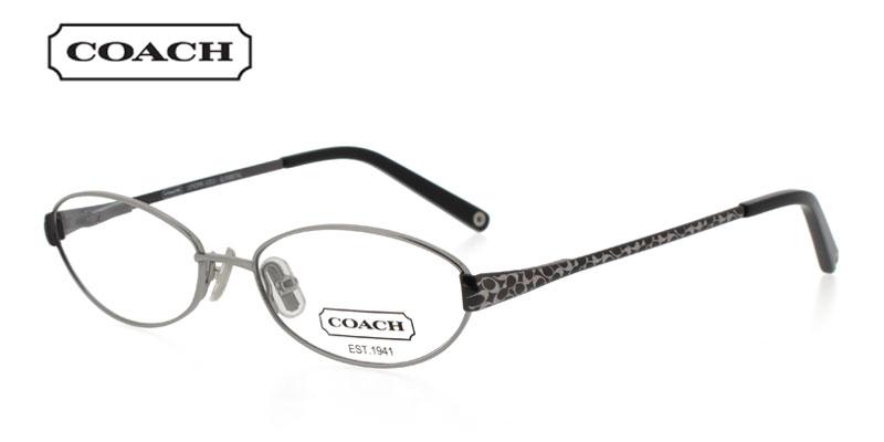 Price of Coach Lenora 1011 Gunmetal Prescription Glasses is for a    Coach Prescription Glasses