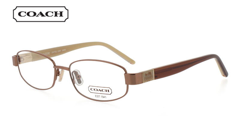 Coach Jontell 245 Bronze Designer Prescription Glasses Coach Prescription Glasses