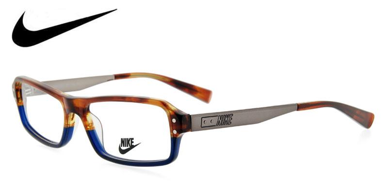 nike-7205-brown-wblue-designer-prescription-glasses