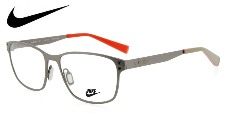 8f5231e8f1 Nike 8201 Gray Prescription Eyeglasses From  149