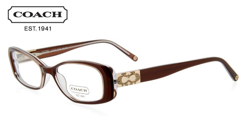 Coach Fionna Brown Designer Prescription GlassesCoach Prescription Glasses