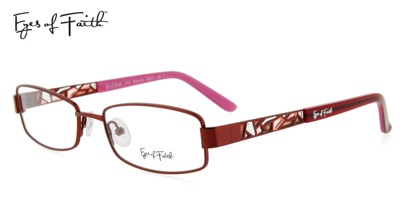 e9dc3be4dae Eyes Of Faith 1004 Burgundy Designer Prescription Glasses Order Now ...