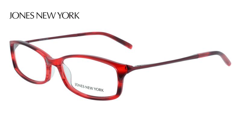 Designer Eyeglass Frames Nyc : Buy Jones New York J735 Red Designer Glasses - Eye Glasses ...