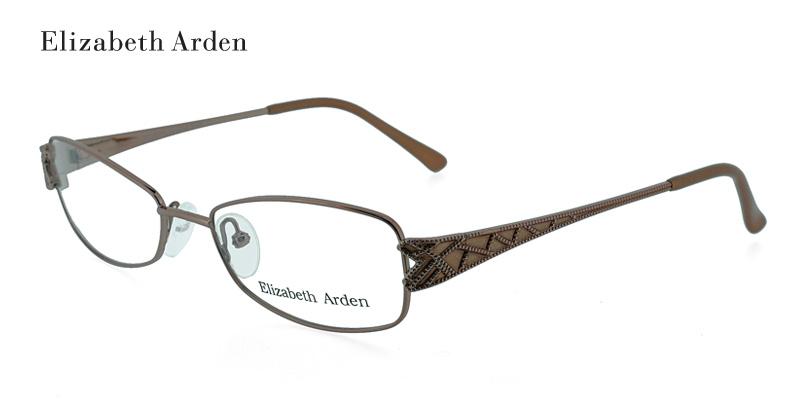 1846bf9fdb61 Elizabeth Arden EA1038 Brown Designer Eyeglasses - shoponlineone0001