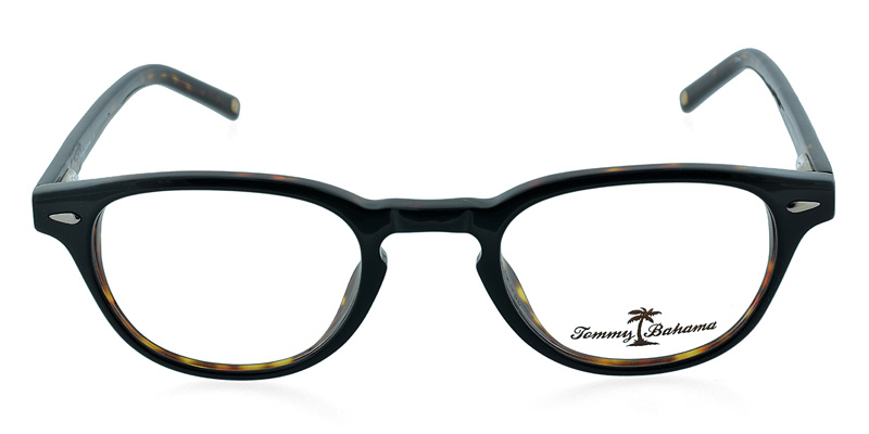 7e9c0beb9ca Tommy Bahama TB164 Black w Tortoise NA by GlassesUSA.com