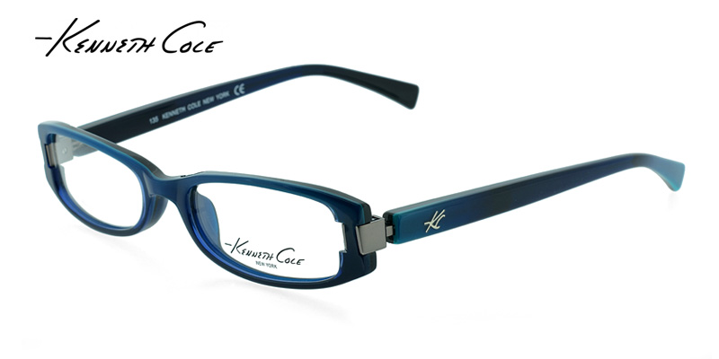 Coach Turquoise Eyeglass Frames : Discount on Kenneth Cole KC0134 Turquoise Blue Designer ...
