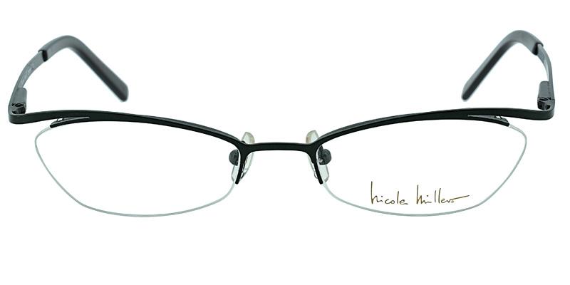 59caf8f180 Nicole Miller Empire Dark Green Prescription Eyeglasses From  104