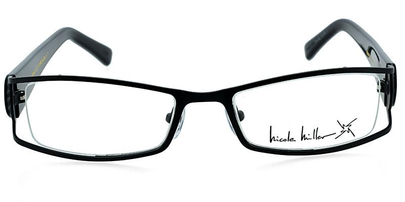 Nicole Miller Savvy Black Prescription Eyeglasses From 104
