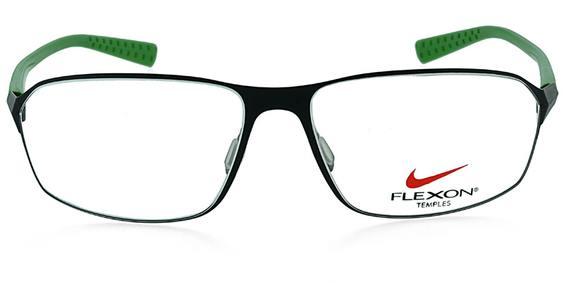 17b9ef98eb Nike Flexon 4201 Black w Green Prescription Eyeglasses From  178