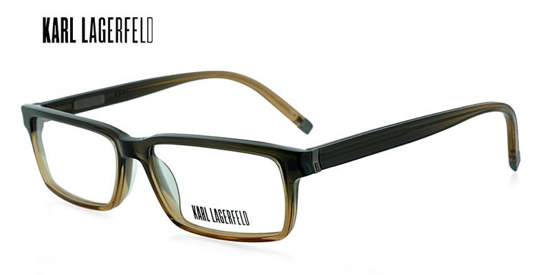 bec6d9185d96 Karl Lagerfeld KL660 Dark Green w Brown Designer Glasses Buy Online ...
