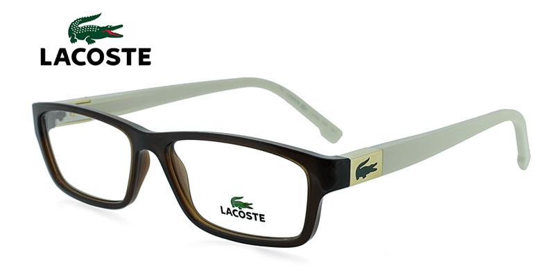 6f03f8d52c05 Buy Lacoste L2502 Brown w Cream Designer Glasses - Save on Eye ...