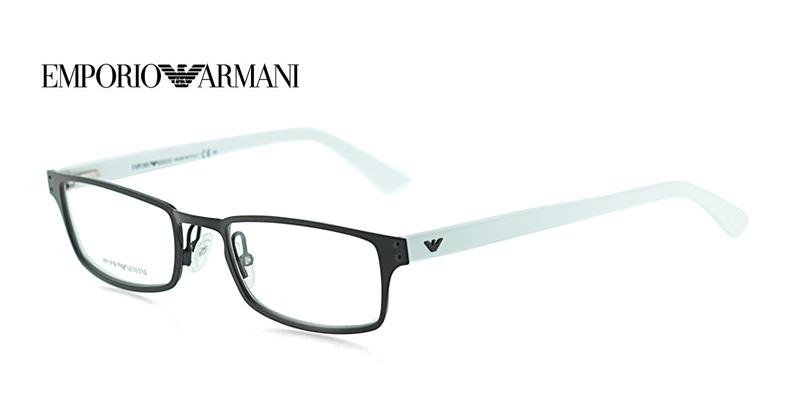 !* Emporio Armani EA9766 Brown w/White Designer Glasses ...