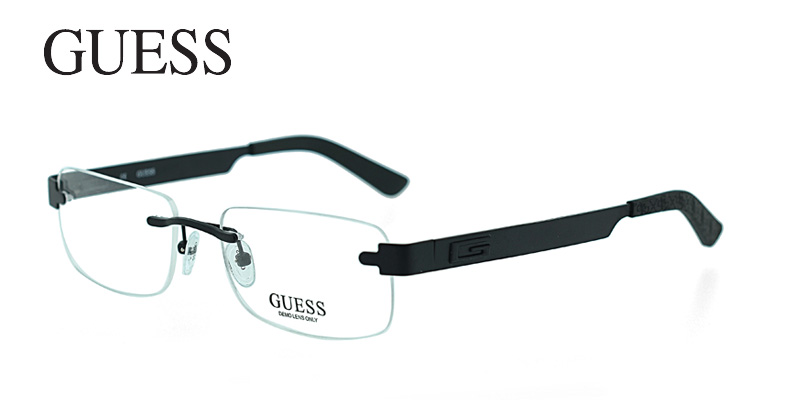 !* Guess 1734 Black Designer Eyeglass Frames Order Now ...