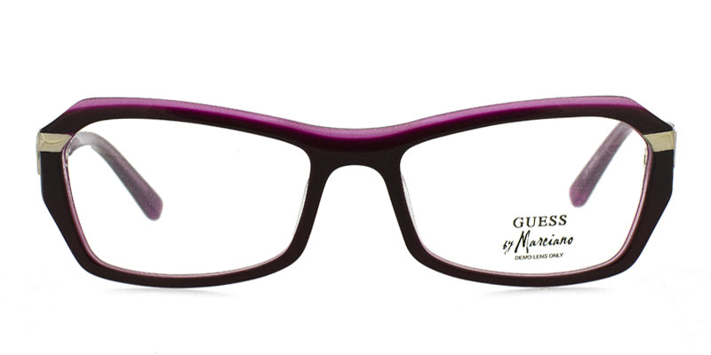7fcb239372c Guess By Marciano GM112 Burgundy Prescription Eyeglasses From  164