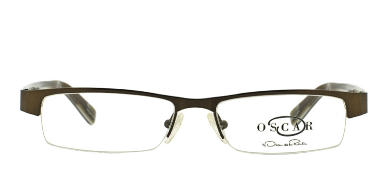 e0ceb710b09 Oscar De La Renta OSM812 Shiny Brown Prescription Eyeglasses From  148