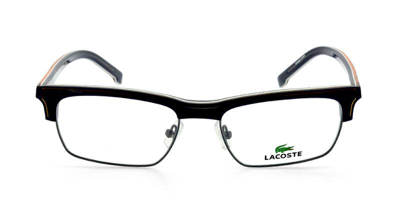 910fe55fdd5 Lacoste L2642 Black w Gunmetal Prescription Eyeglasses From  154
