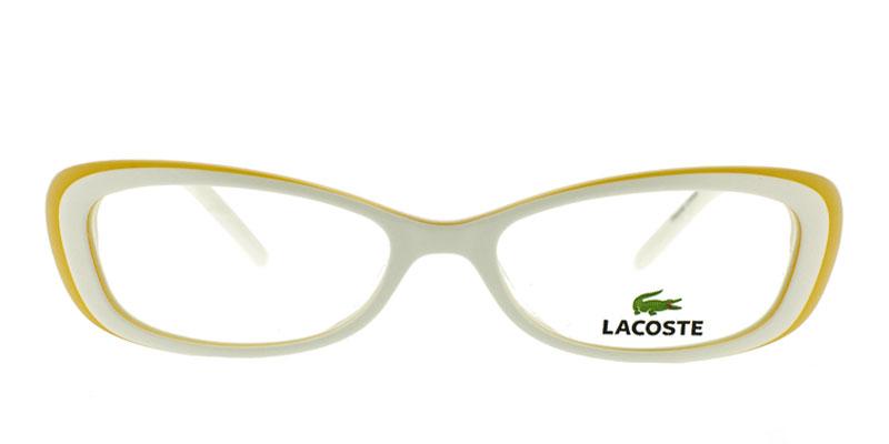 72409ac558b8 Lacoste L2611 White Prescription Eyeglasses