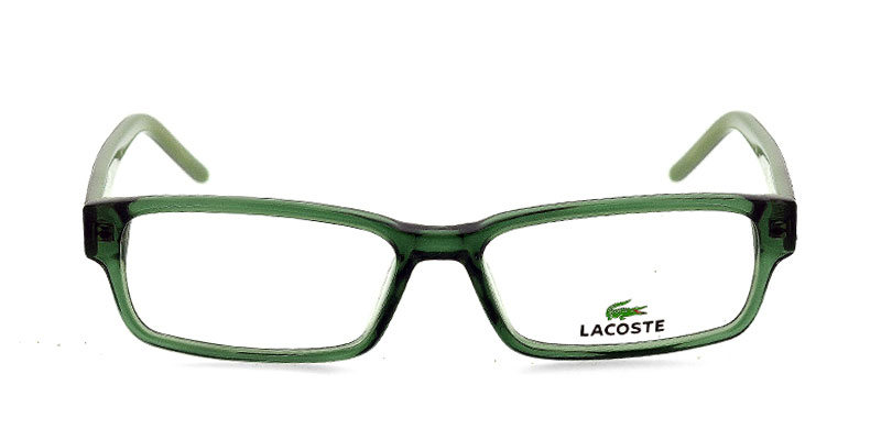 7471a93b95 Lacoste L2610 Clear Green Prescription Eyeglasses From  154