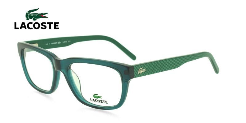 Lacoste L2645 Clear Green Prescription Eyeglasses From $168